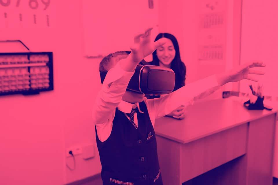 Realidad virtual en la educación: aprendizaje y juego